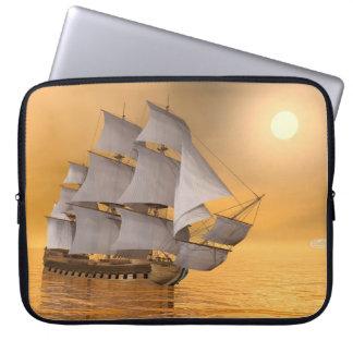 Capa Para Computador Navio mercante velho - 3D rendem