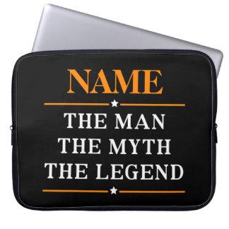 Capa Para Computador Nome personalizado o homem o mito a legenda