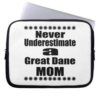 Capa Para Computador Nunca subestime a mamã de great dane