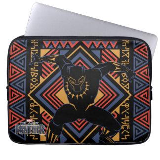 Capa Para Computador Painel da pantera preta de pantera preta  