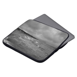 """Capa Para Computador PC 15"""" da praia de Sabaudia luva"""