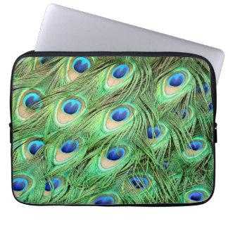 Capa Para Computador Pena do pavão