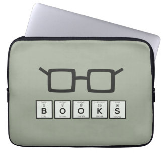 Capa Para Computador Registra os vidros Zh6zg do nerd do elemento