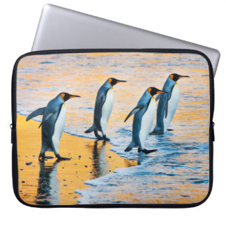 Capa Para Computador Rei pinguins no nascer do sol - caixa do laptop
