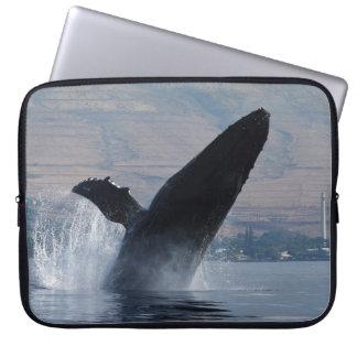 Capa Para Computador rompimento da baleia do humback