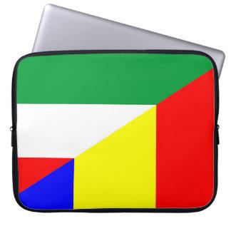 Capa Para Computador símbolo do país da bandeira de romania Hungria