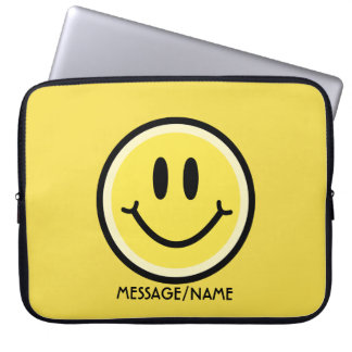 Capa Para Computador Sorriso amarelo