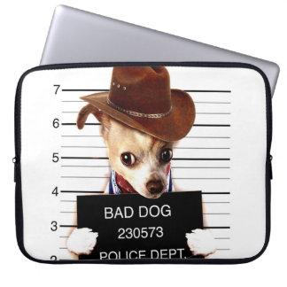 Capa Para Computador vaqueiro da chihuahua - cão do xerife