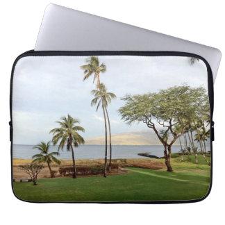 Capa Para Computador Vista para a baía de Maalaea de Kihei, Maui, Havaí