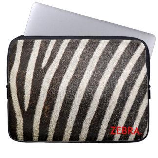 """Capa Para Computador ZEBRA 13"""" design de ZebraSkin da bolsa de laptop"""
