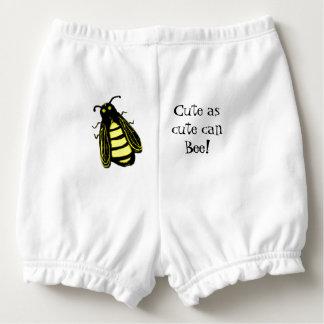 Capa Para Fralda Abelha bonito da abelha do bebê com texto do