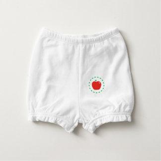 Capa Para Fralda Apple vermelho