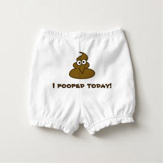 Capa Para Fralda Bebê engraçado de I Pooped hoje