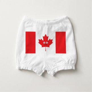 Capa Para Fralda Cara canadense da folha de bordo
