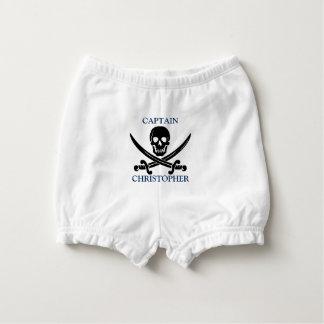Capa Para Fralda Crânio da bandeira de pirata