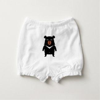 Capa Para Fralda Desenhos animados do urso preto