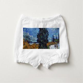 Capa Para Fralda Estrada secundária de Vincent van Gogh em Provence