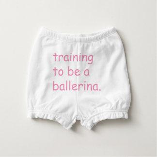 Capa Para Fralda Formação a ser uma bailarina