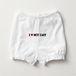 Capa Para Fralda Mim coração meu gato