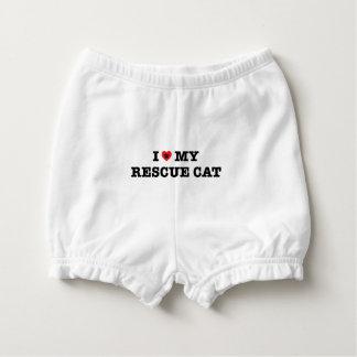 Capa Para Fralda Mim coração meu gato do salvamento
