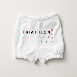 Capa Para Fralda O Triathlon deixou a raça começar