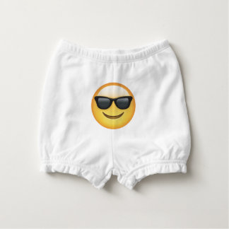 Capa Para Fralda Óculos de sol legal Emoji do bebê