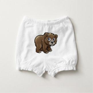 Capa Para Fralda Personagem de desenho animado dos animais do urso