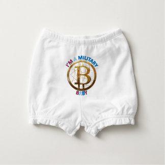 Capa Para Fralda Roupa militar do bebê de Bitcoin