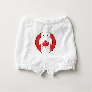Capa Para Fralda Sinal de paz canadense
