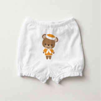 Capa Para Fralda Urso animal do marinheiro do bebê bonito