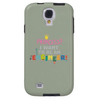 Capa Para Galaxy S4 A princesa Eu quer ser um Engnineer Z2yb2