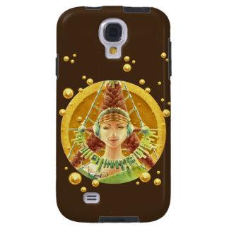 Capa Para Galaxy S4 Caixa da galáxia S4 - retrato com fones de
