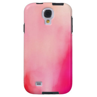 Capa Para Galaxy S4 Colorido alaranjado coral do rosa abstrato da