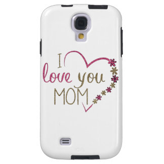 Capa Para Galaxy S4 Coração do dia das mães da mamã do amor