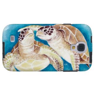 Capa Para Galaxy S4 Duas tartarugas de mar