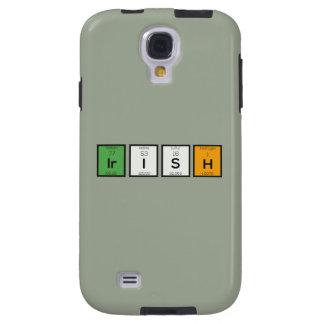 Capa Para Galaxy S4 Elementos químicos irlandeses Zy4ra