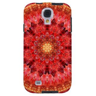 Capa Para Galaxy S4 Mandala de cristal do fogo