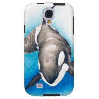 Capa Para Galaxy S4 Mergulho profundo da orca