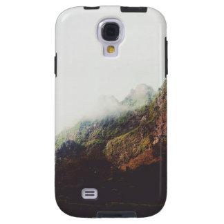 Capa Para Galaxy S4 Montanhas enevoadas, cena de relaxamento da