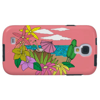 Capa Para Galaxy S4 Praia