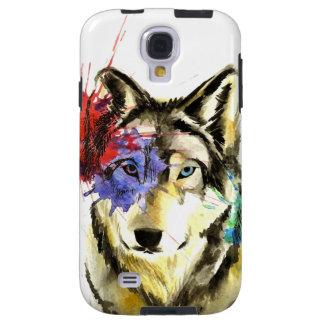 Capa Para Galaxy S4 Splatter do lobo