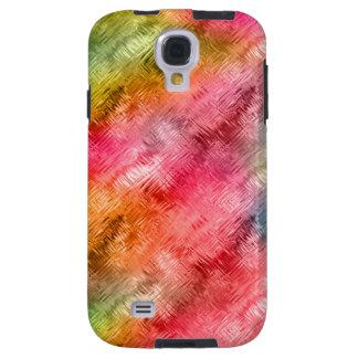 Capa Para Galaxy S4 Teste padrão colorido do cristal