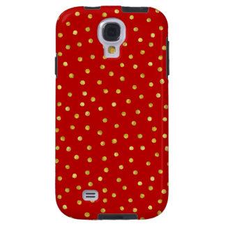 Capa Para Galaxy S4 Teste padrão de pontos elegante dos confetes da