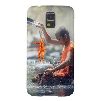 Capa Para Galaxy S5 Água e fogo