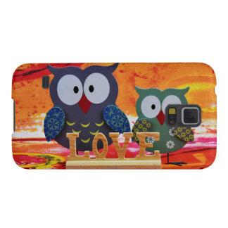 Capa Para Galaxy S5 Amor da coruja