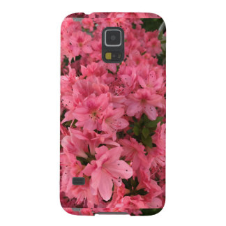 Capa Para Galaxy S5 Arbusto de florescência cor-de-rosa brilhante na