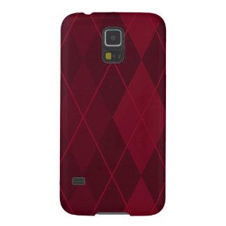 Capa Para Galaxy S5 Argyle vermelho