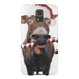 Capa Para Galaxy S5 Asno do Natal - asno do papai noel - papai noel do