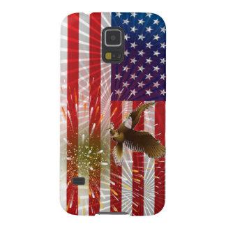 Capa Para Galaxy S5 Bandeira americana