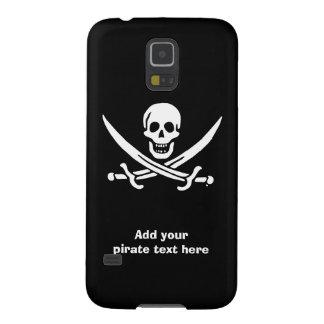 Capa Para Galaxy S5 Bandeira de pirata alegre de Roger